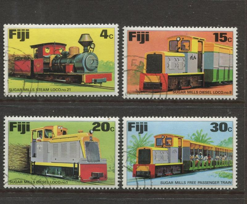 Fiji - Scott 361-364 - General Issue 1975 - VFU - Set of 4 Stamps