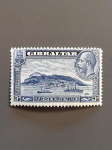 Gibraltar 99a F-VF MH. Scott $45.00