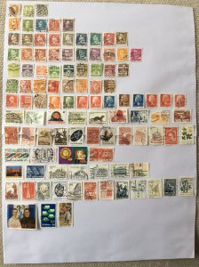 Denmark 100+ stamps - Lot A