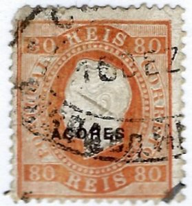 Portuguese Azores SC#27 Used perf faults SCV$50.00...Worth a close look!