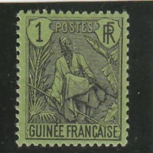 French Guinea  Scott#  18  MH  (1904 Fulah Shepherd)