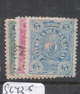 Paraguay SC 20,22 MOG , 21 VFU (1dfm)