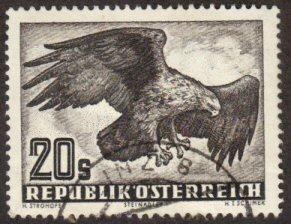 Austria #C60 used 20s eagle