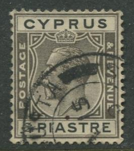 Cyprus - Scott 93 - KGV Definitive Issue -1924 - Used - Single 3/4pi Stamp