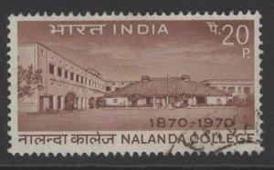 INDIA SG609 1970 NALANDA COLLEGE USED