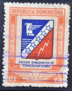 Dominican Republic Scott C54 Used stamp