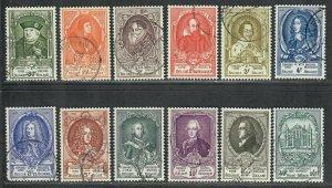 $Belgium Sc#435-45, B514, complete set, Cv. $138