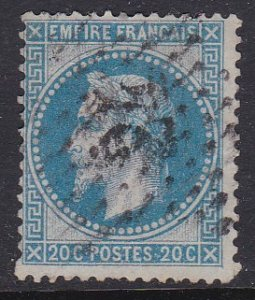 France #26 VG-F used Napolean III