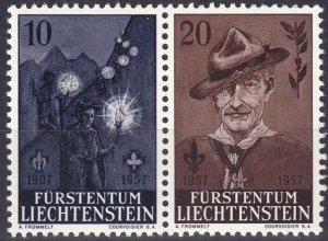 Liechtenstein #315-6 MNH  CV $3.00 (Z5174)