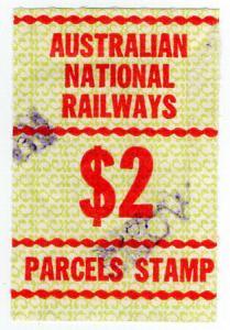 (I.B) Australia Railways - Australian National Railways $2