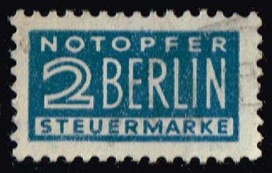 Germany #RA5 Postal Tax; Used (0.25)