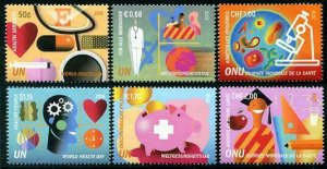 HERRICKSTAMP NEW ISSUES UNITED NATIONS World Health Day 2018