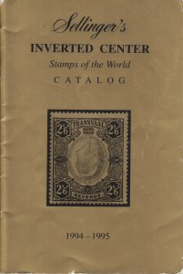 1994-95 Inverted Center Stamps of the World Catalog, by Martin Sellinger. Used.