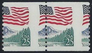 2280 Misperf Error / EFO Pair Yosemite Mint NH (Stk4)