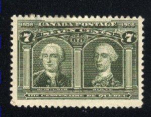 Canada 100   Mint F 1908   PD