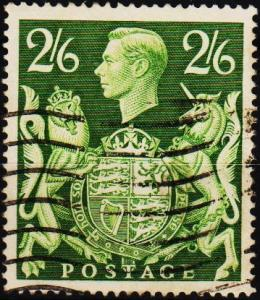 Great Britain. 1939 2s6d S.G.476a Fine Used