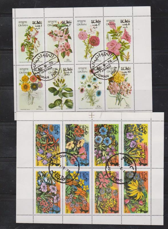 FLOWERS On Stamps - Fantasy Issues From Various Countries