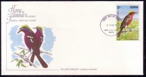 Kenya FDC SC# 291 Yellow Gololek L212