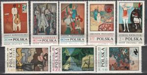 Poland #1763-70  MNH CV $2.70