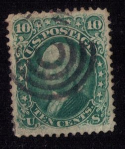 US Sc 68 Used Superb Centering Target Cancellation, No Faults F-VF