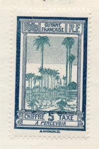 French Guiana 1920s Early Issue Fine Mint Hinged 5c. 105920
