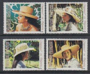 French Polynesia 393-396 MNH VF