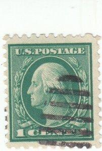 Scott #462 - 1c Green  -  Washington - Used