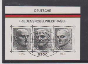 GERMANY STAMPS USED S/S #1203  LOT#179
