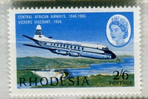 RHODESIA: 1966 early AIR issue fine Mint MNH unmounted 2s. 6d. value