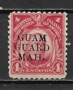 Guam M6 4c Guard Mail single MH (z1)