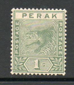 Malaya Perak Unused No Gum E240