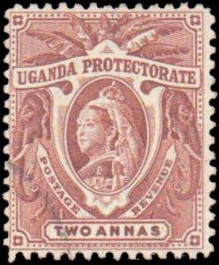 Uganda #71, Incomplete Set, 1902, Used