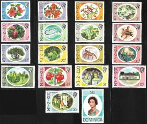 Dominica # 454 - 71 Mint Never Hinged  [8106]
