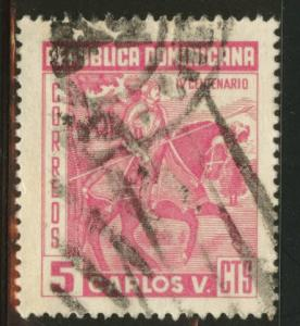 Dominican Republic Scott 516 Used 1959 Charles V stamp