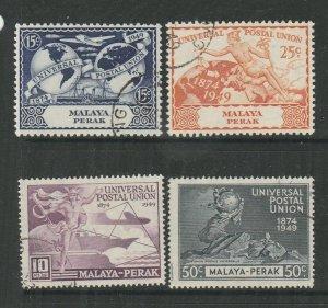 Malaya Perak 1949 UPU FU SG 124/7