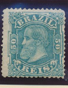 Brazil Stamp Scott #88, Unused, No Gum - Free U.S. Shipping, Free Worldwide S...