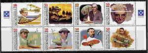 MICRONESIA 1998 WRIGHT BROTHERS - AVIATION - SET OF 8!