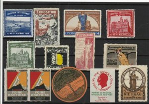 Revenue Fiscal and poster Stamps Ref 14094