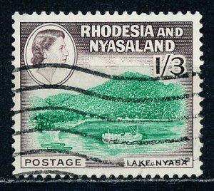 Rhodesia & Nyasaland #166 Single Used