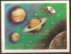 Lesotho #320 Mint Souvenir Sheet F-VF CV $2.75 (ST1509L)