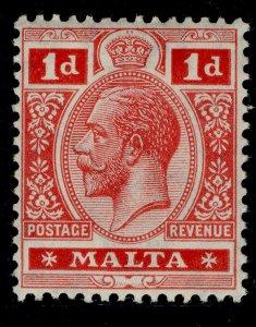 MALTA GV SG73, 1d carmine-red, M MINT.