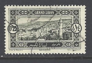 Lebanon Sc # 51 used (RS)