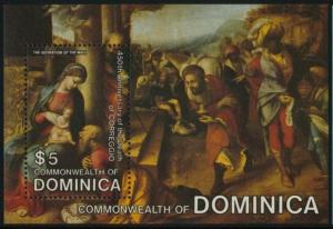 Dominica 862 MNH Art, Adoration of the Magi