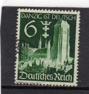 Germany Deutsches reich Danzig Annexation used