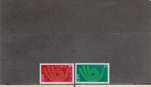 NORWAY 604-605 MNH 2019 SCOTT CATALOGUE VALUE $6.25