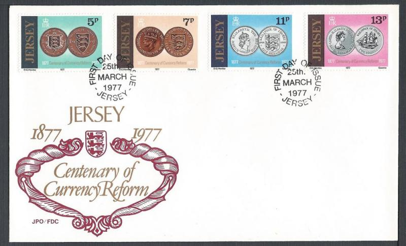Great Britain-Jersey, FDC