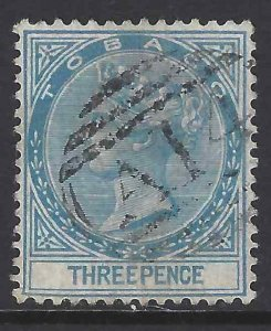 Tobago 1879 SC 2 Used SCV$ 88.00