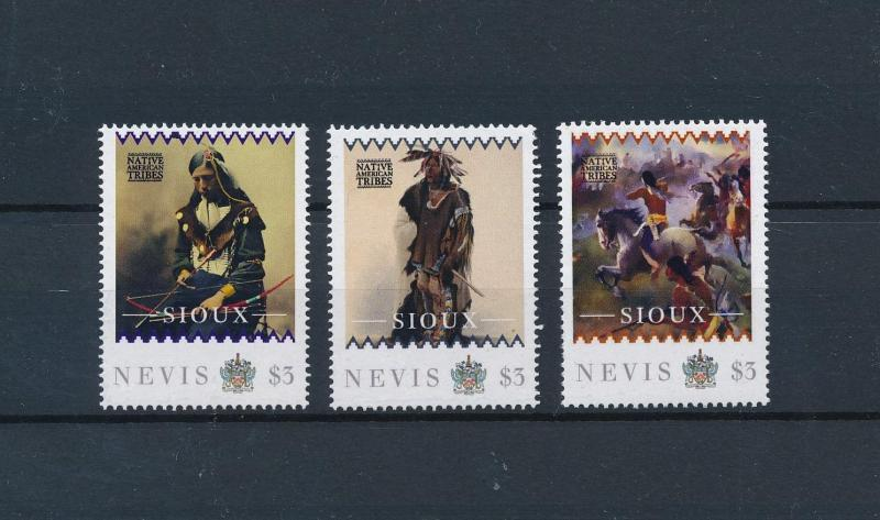 [80921] Nevis 2011 Native Americans Indians Sioux MNH