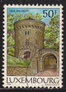 Luxembourg 755 Malakoff Tower 1986