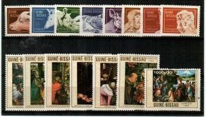 Guinea-Bissau Scott 857-71 Mint NH (Catalog Value $36.35)